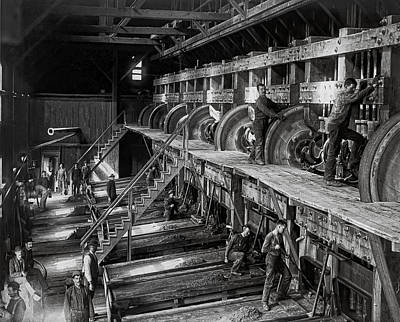 Deadwood Photograph - The Deadwood Terra Gold Ore Stamp Mill C. 1888 by Daniel Hagerman