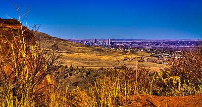 Photograph - The Denver Skyline IIi by David Patterson