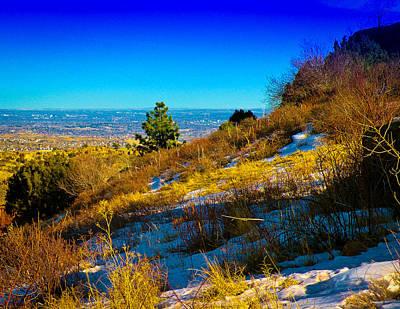 Photograph - The Denver Skyline Vi by David Patterson