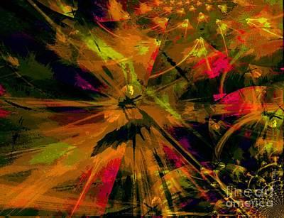 Yesayah Mixed Media - The Depth Of Liberty by Fania Simon