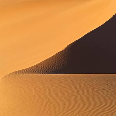 The Desert In Nambia, Africa Art Print