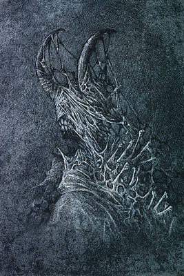 The Devil Art Print by Maciej Kamuda