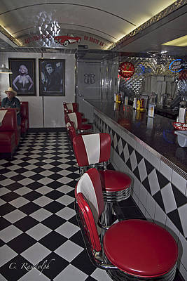 Photograph - The Diner by Cheri Randolph