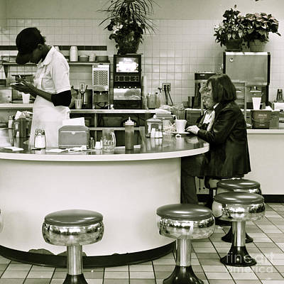Photograph - The Diner by Kate Purdy
