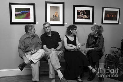 Photograph - The Discussion by Jane Brack