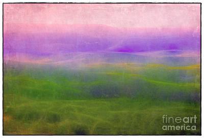The Distant Hills Art Print by Judi Bagwell
