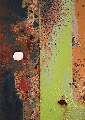 The Dividing Line Art Print by Camera Rustica Bill Kerr