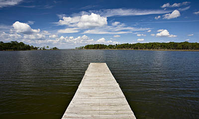 Photograph - The Dock At The Lake by Al Hurley