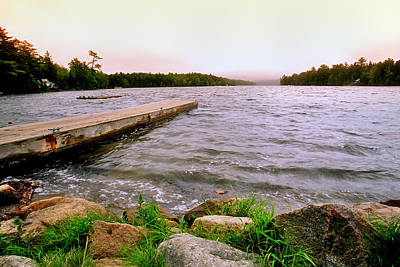 Acadia Photograph - The Dock by Joann Vitali