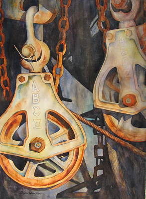The Docks Art Print