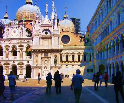 The Doge's Palace Venice Art Print