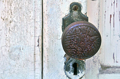 Photograph - The Door Knob by Helen Haw
