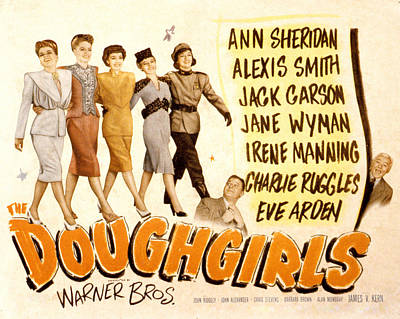 The Doughgirls, Ann Sheridan, Alexis Art Print