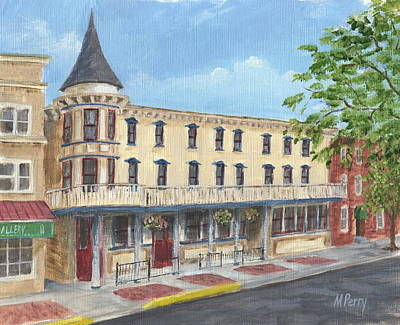 The Doylestown Inn Art Print
