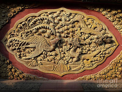 Photograph - The Dragon And A Phoenix by Xueling Zou