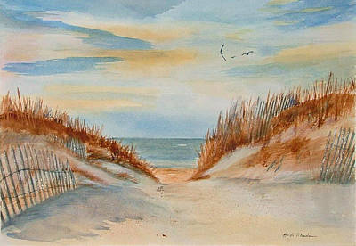 Painting - The Dunes by Heidi Patricio-Nadon