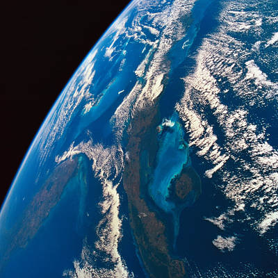 Space Exploration Photograph - The Earth Viewed From Space by Stockbyte