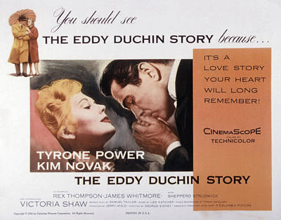 Fid Photograph - The Eddy Duchin Story, Kim Novak by Everett