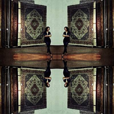 Gmy Photograph - The Egyptian Girl & The Persian Carpets by Natasha Marco