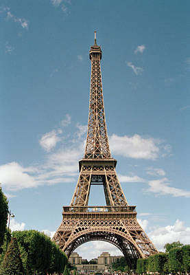 Single Object Photograph - The Eiffel Tower, Paris by Martin Diebel