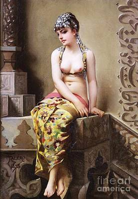 Enchantress Painting - The Enchantress by Pg Reproductions