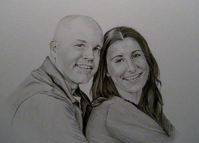 Drawing - The Engagement by Lori Ippolito