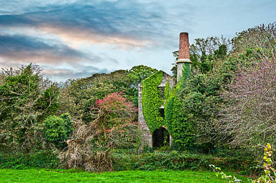 Mining Photograph - The Engine House by Paul Howarth