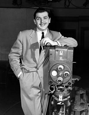 1950s Tv Photograph - The Ernie Kovacs Show, Ernie Kovacs by Everett