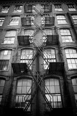 Photograph - Fire Escape Detail by Vintage Pix