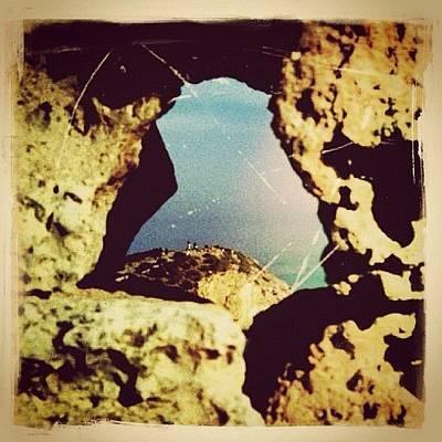 Rock Wall Art - Photograph - The Eye Of Greece by Natasha Marco