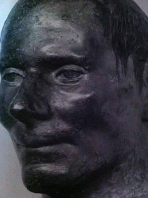 The Face Art Print by Paul Washington