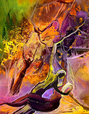 Painting - The Fall by Miki De Goodaboom