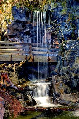 Art Print featuring the photograph The Falls by Deena Stoddard
