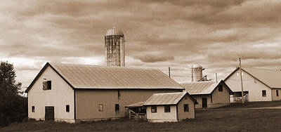 The Farm Art Print by Barry Jones