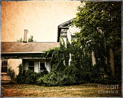 Photograph - The Farm House by Anne Raczkowski