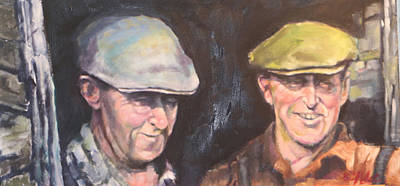 Painting - The Farmers by Kevin McKrell