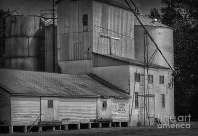 The Feed Mill Art Print by Tamera James