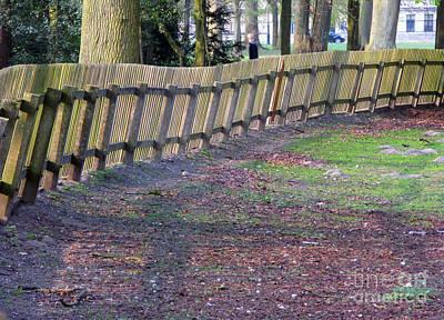 Photograph - The Fence by Ausra Huntington nee Paulauskaite