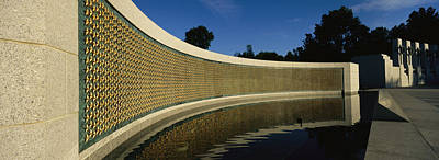 War Monuments And Shrines Photograph - The Field Of Stars On The Freedom Wall by Richard Nowitz