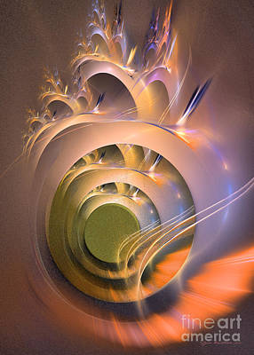 Digital Art - The Fifth Window - Fractal Art by Sipo Liimatainen