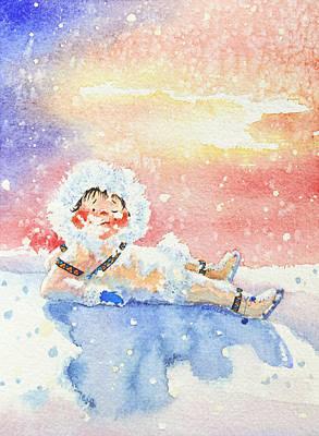 The Figure Skater 6 Art Print by Hanne Lore Koehler