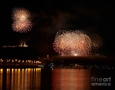 Carnival Victory Photograph - The Firework by Odon Czintos