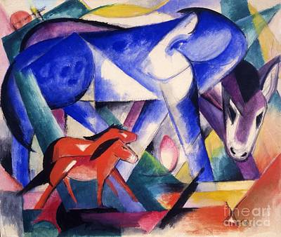 Painting - The First Animals by Pg Reproductions