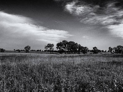 Photograph - The First Homestead In Black And White by Joshua House