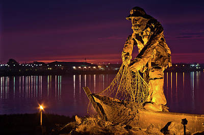The Fisherman Art Print by Greg Nyquist