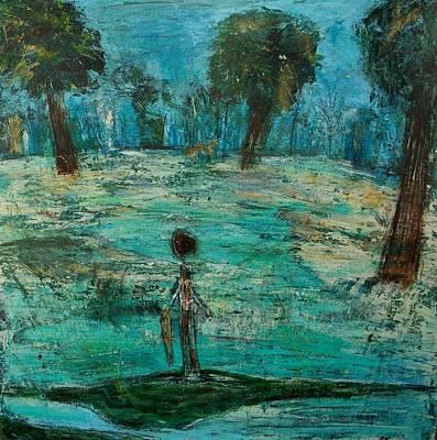 The Fishing Boy Art Print