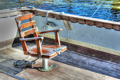 The Fishing Chair Art Print