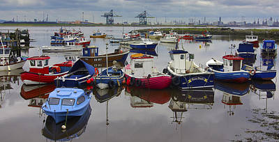The Fishing Fleet Art Print