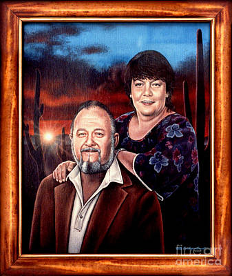Painting - The Fitzwaters by Cristophers Dream Artistry