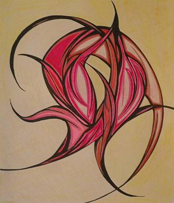 The Flip Art Print by Tara Francoise